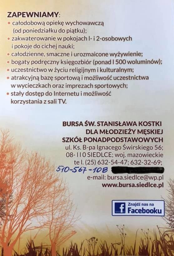 Bursa - ulotka 2